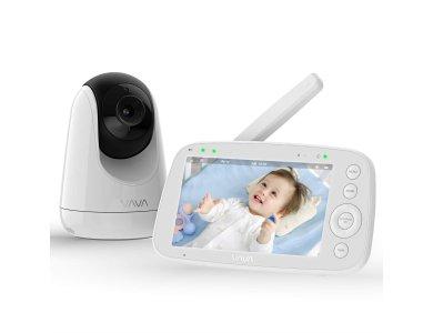 "VAVA VA-IH006 Ενδοεπικοινωνία μωρού, HD 720p, 5"" LCD, Two-Way Audio, One-Click Zoom, Night Vision & Thermal Monitor, Μπαταρίας"