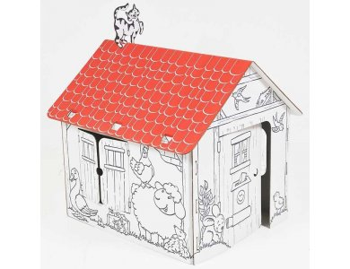 Allocacoc Annahouse with Red Roof - DH0554/ANHSRR