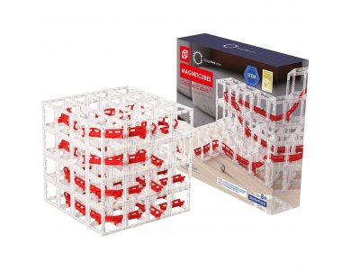 DesignNest MagnetCubes Rollercoaster Marble Run - DH0239/COSTCB