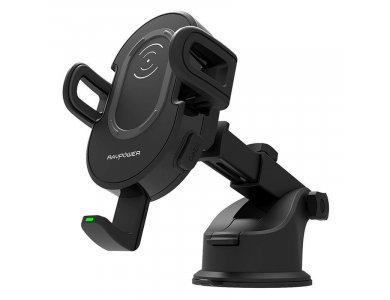 RAVPower Qi 10W Ασύρματος φορτιστής/Βάση αεραγωγού Αυτοκινήτου - RP-SH007