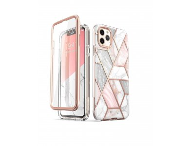i-Blason iPhone 11 Pro Max Cosmo Case, Marble Pink