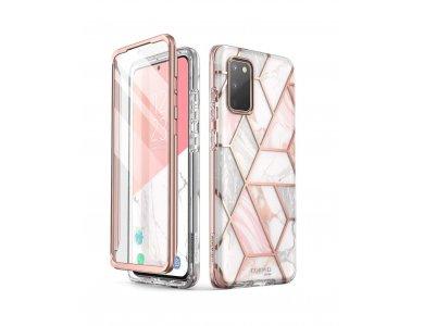 i-Blason Galaxy S20 Cosmo Θήκη, Marble Pink