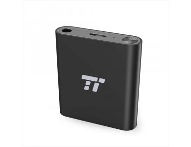 TaoTronics TT-BA11 Bluetooth Transmitter, 3.5mm AUX Wireless Audio Adapter, aptX, 20m Long Range