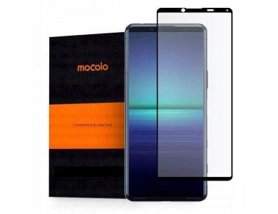 Mocolo Sony Xperia 5 II Full Glue Curved Tempered Glass 9H, Αντιχαρακτικό Γυαλί