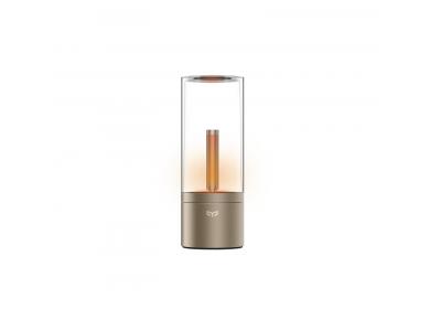 Yeelight Atmosphere Candela Smart Lamp LED WiFi, Warm White 6.5W (Doesn't need Hub), Gold - YLFW01YL