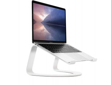 """Twelve South Curve Stand/Mount for Laptop / Macbook 11-17"""",  White - 12-1915"""