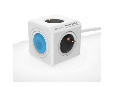 Allocacoc PowerCube Original SmartHome Power Strip 4 Ports & Smart Control via App WiFi - 10753/DEEXSH