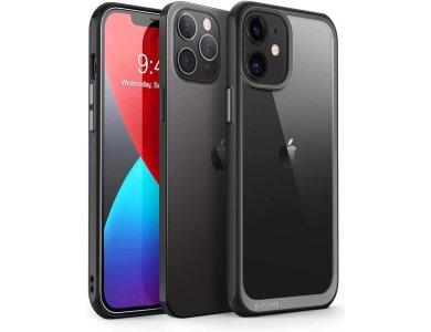 Supcase iPhone 12 / 12 Pro Unicorn Beetle Style Case, Black