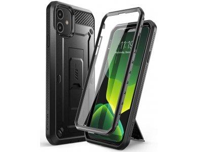 Supcase iPhone 11 Unicorn Beetle Pro Rugged Full Body Case, Black