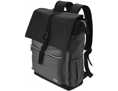 TaoTronics Backpack/Τσάντα laptop 15.6'', Αδιάβροχο για Computer/Tablets/Notebook, Μαύρο - TT-HT005