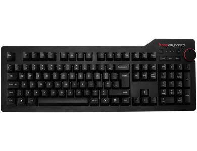 Das Keyboard 4 Professiona Wired Mechanical Keyboard, for MAC, Cherry MX Brown Switches - Soft Tactile - DASK4MACSFT-UK