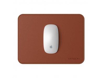 Satechi Eco-Leather Mouse Pad (25x19x0,3cm), Brown - ST-ELMPN