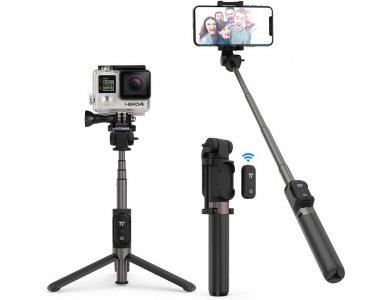 TaoTronics Bluetooth Selfie Stick & Τρίποδο με Remote 3-in-1, Επεκτεινόμενο Wireless Handheld Tripod - ST002