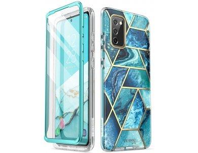 i-Blason Galaxy S20 FE Cosmo Θήκη, Marble Ocean