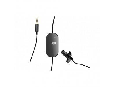 Newell Tie Microphone S6M mini Jack TRRS, Οmnidirectional Μικρόφωνο Πέτου, Real-Time Sound Monitoring System & CVC