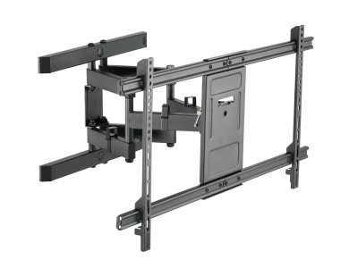 "Nordic TV Mount, Ultra Slim Επικλινόμενη Βάση με διπλό Βραχίονα για TV 43""-90"", έως 60kg - ARMT-464"