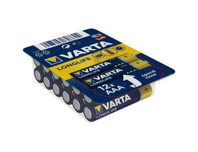 Varta Energy Αλκαλικές Μπαταρίες AAA 1,5V LR03, 12 Τμχ. - 4103