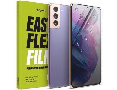 Ringke Galaxy S21 Screen Protector, Dual Easy Flex Film, Set of 2