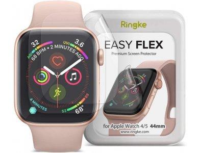Ringke Apple Watch 4 / 5 / 6 / SE 40mm Easy Flex Screen Protector, Προστασία Οθόνης, Σετ των 3