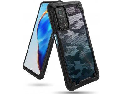 Ringke Fusion X Xiaomi Mi 10T / Mi 10T Pro Military Grade Case Heavy Duty, Camo Black