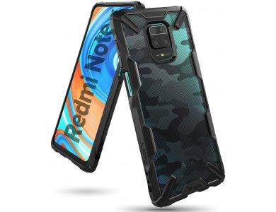 Ringke Fusion X Xiaomi Redmi Note 9S / 9 Pro / 9 Pro Max Military Grade Case Heavy Duty, Camo Black