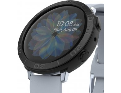 Ringke Galaxy Active 2 44mm Air Sports + Bezel Styling Aluminum Combo Pack, Black
