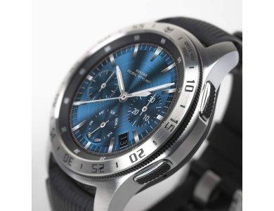Ringke Galaxy Watch 46mm / Gear S3 Bezel Ring Silver, Stainless Steel - GW-46-01, Silver Black Engraved