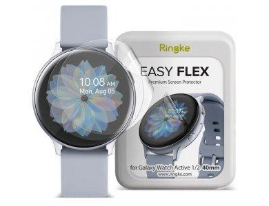 Ringke Galaxy Watch Active 1 / 2 40mm Flex Galaxy Screen Protector,  Set of 3