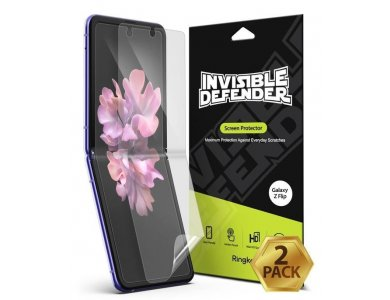 Ringke Galaxy Z Flip Invisible Defender Tempered Glass HD Quality