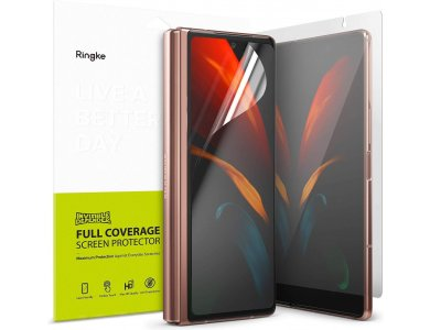 Ringke Galaxy Z Fold 2 Invisible Defender Tempered Glass HD Quality