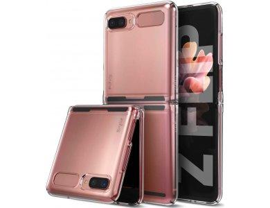 Ringke Slim Galaxy Z Flip Back Cover Durable Σιλικόνης, Clear