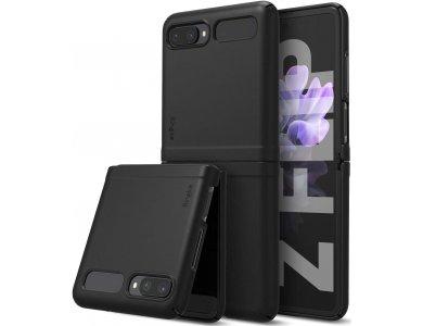 Ringke Slim Galaxy Z Flip Back Cover Durable Silicone, Matte Black