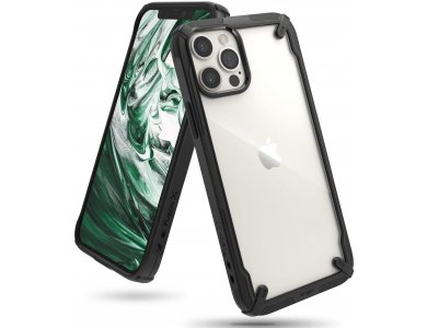 Ringke Fusion X iPhone 12 Pro Max Military Grade Case Heavy Duty, Black