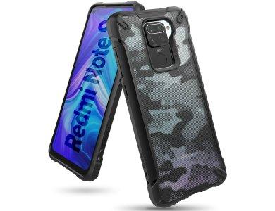 Ringke Fusion X Xiaomi Redmi Note 9 Military Grade Θήκη Heavy Duty, Camo Black