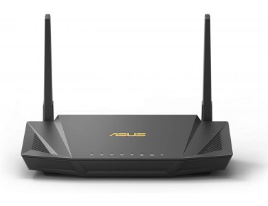 Asus RT-AX56U AX1800 Dual Band WiFi 6 Router supporting MU-MIMO and OFDMA technology ASUS AiMesh WiFi Compatible