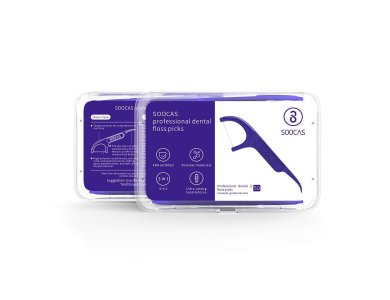 Xiaomi Soocas Dental Floss Purple Amethyst, Οδοντικό Νήμα, 50τμχ