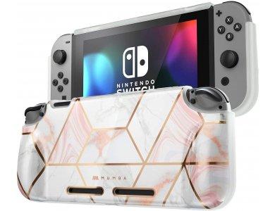 Mumba GP Nintendo Switch Θήκη / cover προστασίας Grip Case - Marble