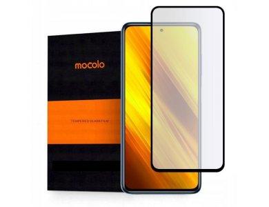 Mocolo Poco X3 NFC Full Glue Curved Tempered Glass 9H, Anti-scratch Glass