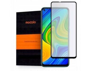 Mocolo Redmi Note 9 Full Glue Curved Tempered Glass 9H, Anti-scratch Glass