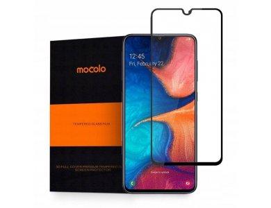 Mocolo Galaxy A20e Full Glue Curved Tempered Glass 9H, Αντιχαρακτικό Γυαλί
