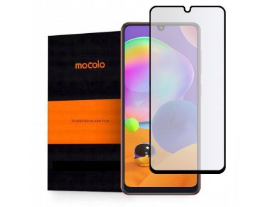 Mocolo Galaxy A31 Full Glue Curved Tempered Glass 9H, Anti-scratch Glass
