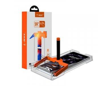 T-MAX Galaxy S21 Ultra UV Liquid Full Glue Tempered Glass & UV LED Lamp, 9H AntiCrash/AntiShock, Clear (With Lamp)
