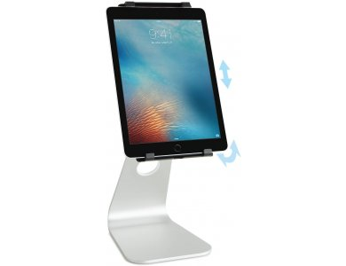 """Rain Design mStand Tablet Pro Stand / Stand Tablet / iPad Adjustable for devices up to 9.7 """", Silver - 10056"""