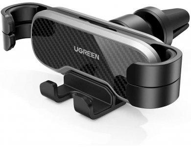 Ugreen Gravity Βάση Αυτοκινήτου αεραγωγού για Smartphone - 80539, Black