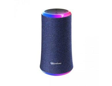Anker Soundcore Flare 2, Portable Waterproof Bluetooth 5.0 Speaker 20W - A3165G31, Blue