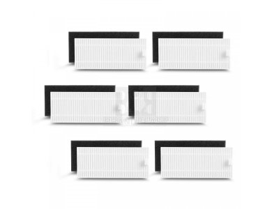 Anker Eufy RoboVac Replacement Filter, Spare Filters for Robotic Vacuum Cleaners 11S / 35C / G10 / G30 - T2906021, Set of 6