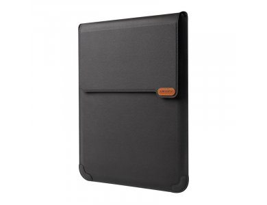 """Nillkin Versatile Leather Sleeve / Laptop Case 16.1 """"with Stand / Mouse Pad, for Macbook / iPad Pro / DELL XPS / HP / Surface etc., Black"""