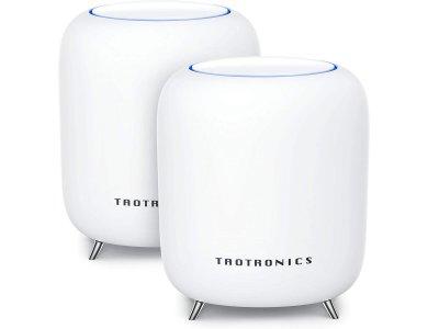 TaoTronics Mesh WiFi Router, Tri-Band AC3000 WiFi Router/Extender 3Gbps, Κάλυψη 450τ.μ. Σετ των 2 - TT-ND001