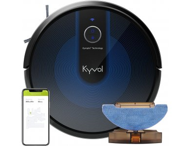 Kyvol Cybovac E31 Smart Robot Vacuum / Mopping Cleaner with Mopping Function, 2200Pa with App & Gyroptic Navigation System