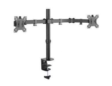 """Nordic Dual Arm Desk Mount with Clamp, Βάση για 2 Οθόνες 13""""-32"""", έως 14kg - GAME-N1000"""